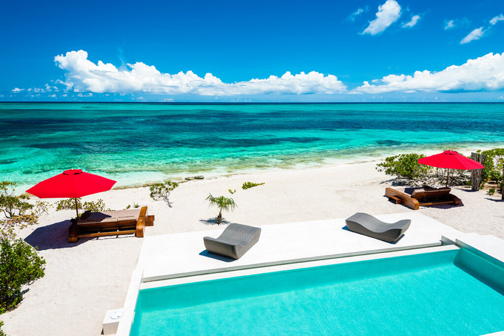 Beachfront of the Week Luxury Villa For Rent In Turks and Caicos